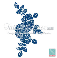 Tattered Lace - Summer Rose - D119 Cutting Dies
