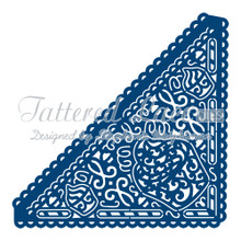 Tattered Lace - Cupcake Edge Corner- D199 Cutting Dies
