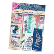 Tattered Lace Magazine Issue 18 with Sweet Pea Cutting Dies