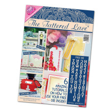 Tattered Lace Magazine Issue 16 with Vertical Sentiments Cutting Dies