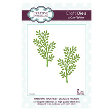 Sue Wilson Creative Expressions CED1426 - Finishing Touches Delicate Fronds