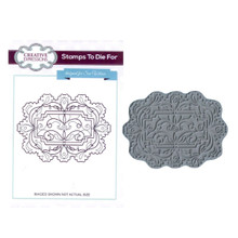 Creative Expressions Pre-Cut Rubber Stamp Sue Wilson UMS598 Diamond Falls
