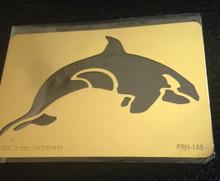 "Orca Brass Stencil PRH-168 2""x3"""