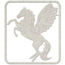 PEGASUS Die-Cut Chipboard embellishment FabScraps