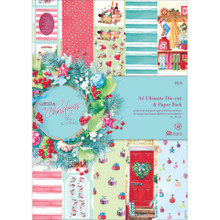 Lucy Cromwell At Christmas Ultimate Die-Cut Pack 48sheets Create over 80 Cards!