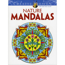 Nature Mandalas Adult Coloring Book Over 30 Creative Designs to Color