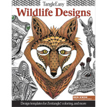 Tangle Easy Wildlife Designs Design Templates For Zentangle Coloring & More!