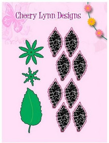 Cheery Lynn Designs B181B Build a Flower #1 2-Dies Cut 11-pieces