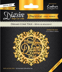 Prestige Dreams Come True Decorative Metal Cutting Dies by Crafter's Companion