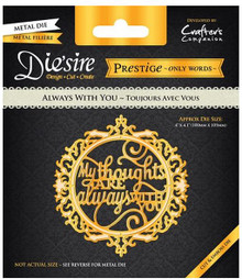 Prestige Always With You Decorative Metal Cutting Dies by Crafter's Companion