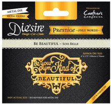 Prestige Be BEautiful Decorative Metal Cutting Dies by Crafter's Companion