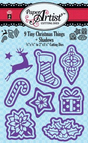 Hot Off The Press - 9 Tiny Christmas Things + Shadows Cutting Dies