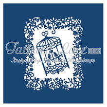 Tattered Lace Dies by Stephanie Weightman ~ Birdcage Tapestry, TTLD653