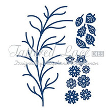 Tattered Lace Wild Blooms Cutting Die D74