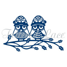 Tattered Lace Christmas Owls D871