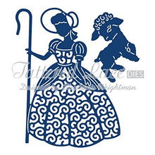 Tattered Lace Little Bo Peep Cutting Die Set D841 2-Die Set