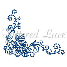 Tattered Lace Rose Pearl COrner Cutting Die D1048