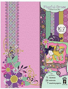 HOTP Playful Grace Artful Card Kit HOTP7286