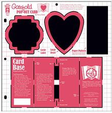 HOTP Template Heart & Label Pop-Out Cards HOTP7447