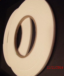 3D Foam Tape in Four 5-Meter Rolls 5mmx2mm