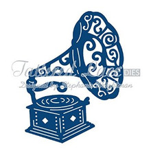 Tattered Lace Dies - Gramophone D158