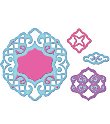 Spellbinders Shapeabilities Pendants Dies, Lattice