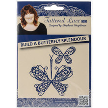 Tattered Lace Build a Butterfly Splendour Tattered Lace Metal Die