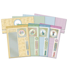 Hunkydory Oriental Blooms Triple Tier Slider Premium Card Kit