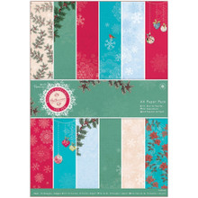 Papermania Bellissima Christmas A4 Paper Pack 36/Pkg