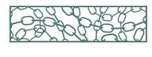 Cheery Lynn Design - B358 - Chain Mesh - Border Ribbon Cutting Die