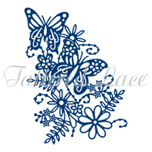 Tattered Lace Blossoming Butterflies  Cutting Dies D1161