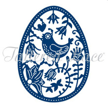 Tattered Lace Easter Egg Cutting Die - D1272