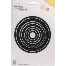 Nellie's Choice Multi Frame Dies- MFD011 Circle 3 Nested Dies