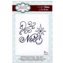 Craft Die CED3033 Sue Wilson Festive Collection - Noel Star