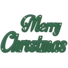 Joy Crafts 2-Piece Merry Christmas Cutting Die 6002/2027