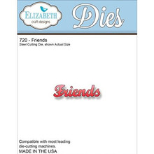 Elizabeth Craft Metal Die-Friends EC720