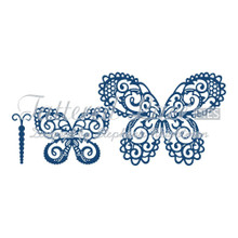 Tattered Lace Dies by Stephanie Weightman  Build a Butterfly Magnificent D654
