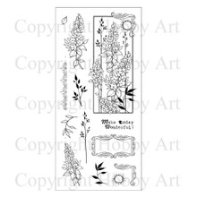 Hobby Art Clear Wonderful Day Stamps CS073D