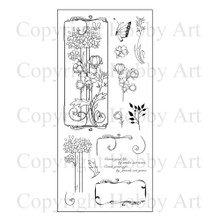 Hobby Art Clear Flowers For Friends Stamps CS088D