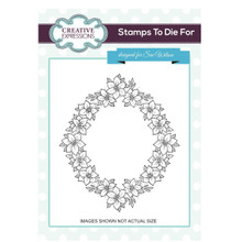 Stamps to Die For by Sue Wilson UMS672 Floral Garland