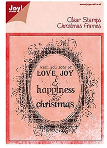Joy Crafts Christmas Frames Clear Stamps