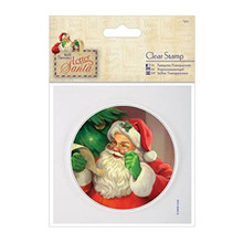 Papermania Letter To Santa Clear Stamps 4X4 Santa