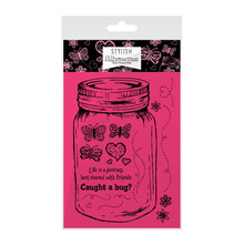Hunkydory Stylish Silhouettes Wishes on Wings Stamp Set - Caught A Bug?