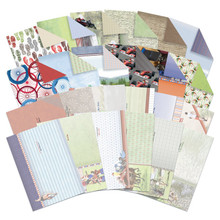 Hunkydory Sports and Games Luxury Inserts and Background Papers - 24 Sheets