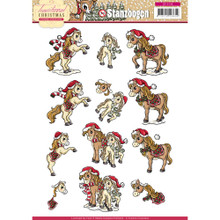 Yvonne Creations Traditional Christmas - 3-D Toppers SB10108