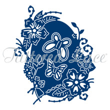 Tattered Lace Oval Card D1150 Cutting Dies