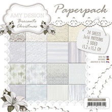 Amy Design Brocante Christmas - 6X6 Paper Pack ADPP10008