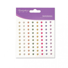 3PK Hunkydory Diamond Sparkles Gemstones - 4mm - Pastel Pearls Self-Adh