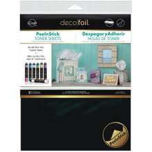 Deco Foil PeelnStick Toner Sheets  - by Thermoweb 2-Pieces