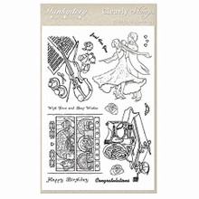 Hunkydory Crafts Clearly Clear Stamps Perfect Pastimes